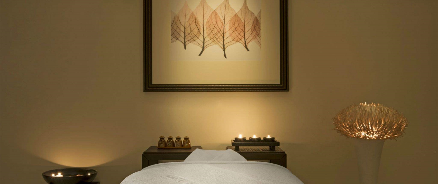 Quiet and calm spa treatment at Heavenly Spa